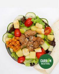 Cubic Teriyaki Salad